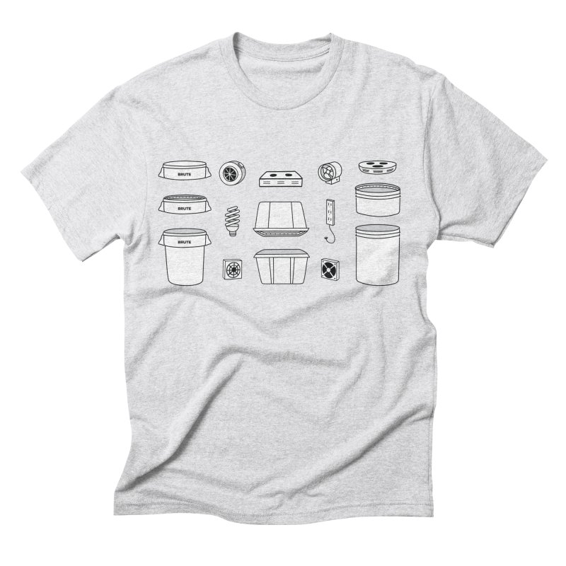 Bucket Builder Men's Triblend T-Shirt by spacebuckets's Artist Shop