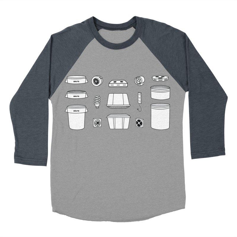Bucket Builder Men's Baseball Triblend T-Shirt by spacebuckets's Artist Shop