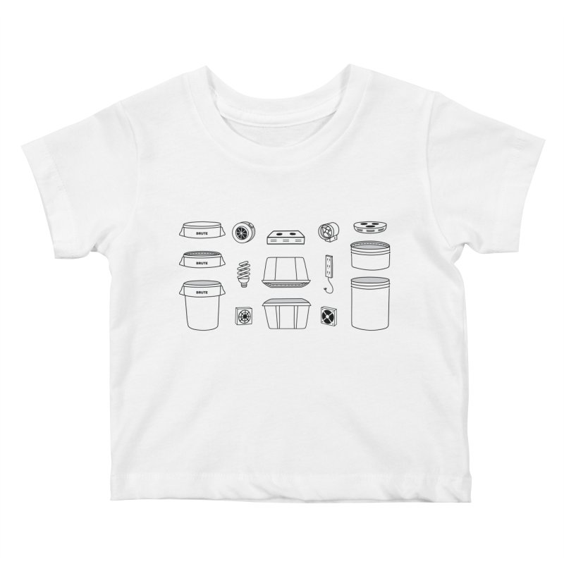 Bucket Builder Kids Baby T-Shirt by spacebuckets's Artist Shop