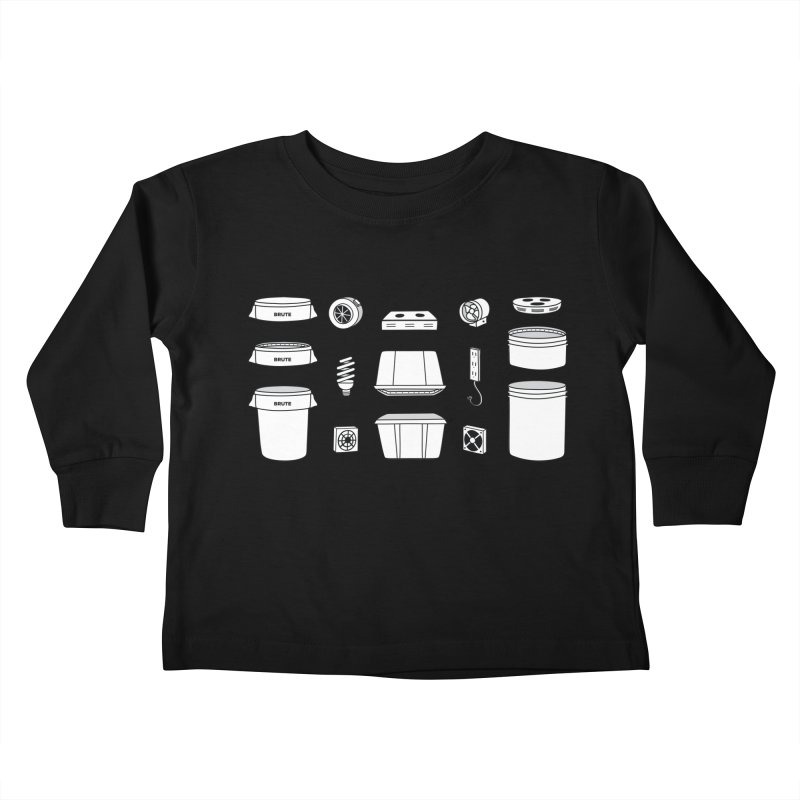 Bucket Builder Kids Toddler Longsleeve T-Shirt by spacebuckets's Artist Shop