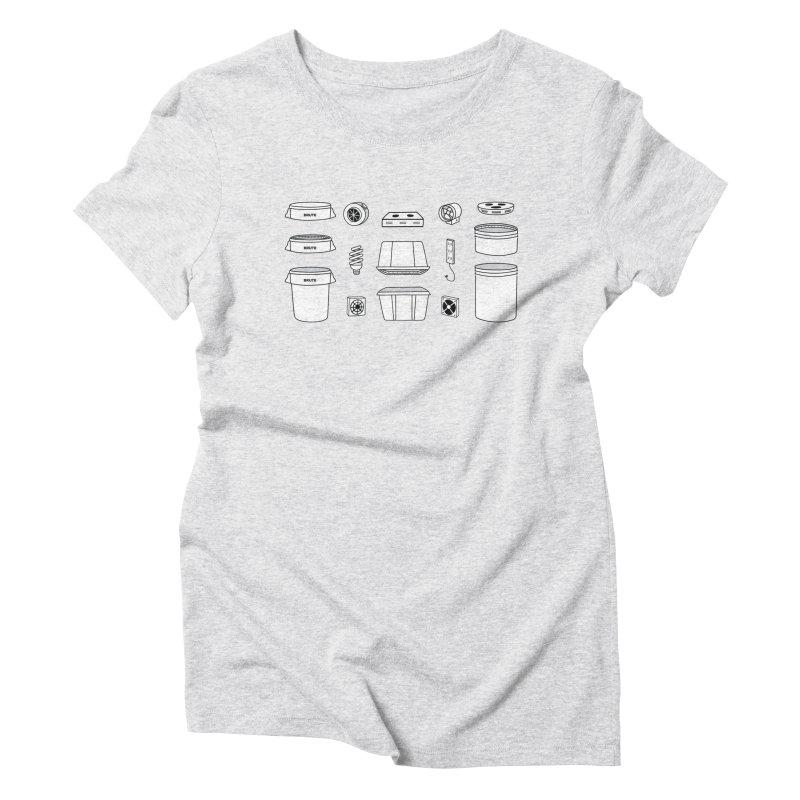 Bucket Builder Women's T-Shirt by spacebuckets's Artist Shop