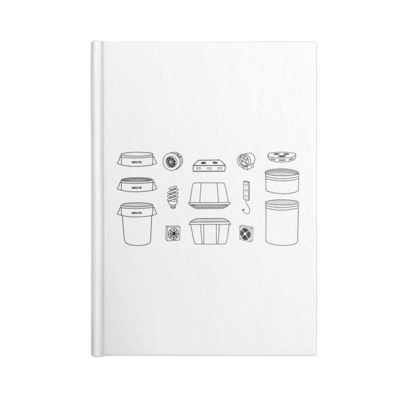 Bucket Builder Accessories Notebook by spacebuckets's Artist Shop