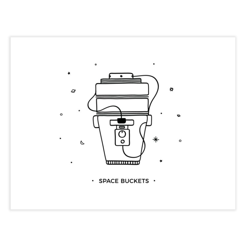 Space Bucket #1 Home by spacebuckets's Artist Shop