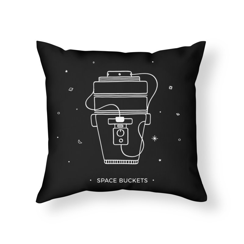 Space Bucket #1 white Home by spacebuckets's Artist Shop