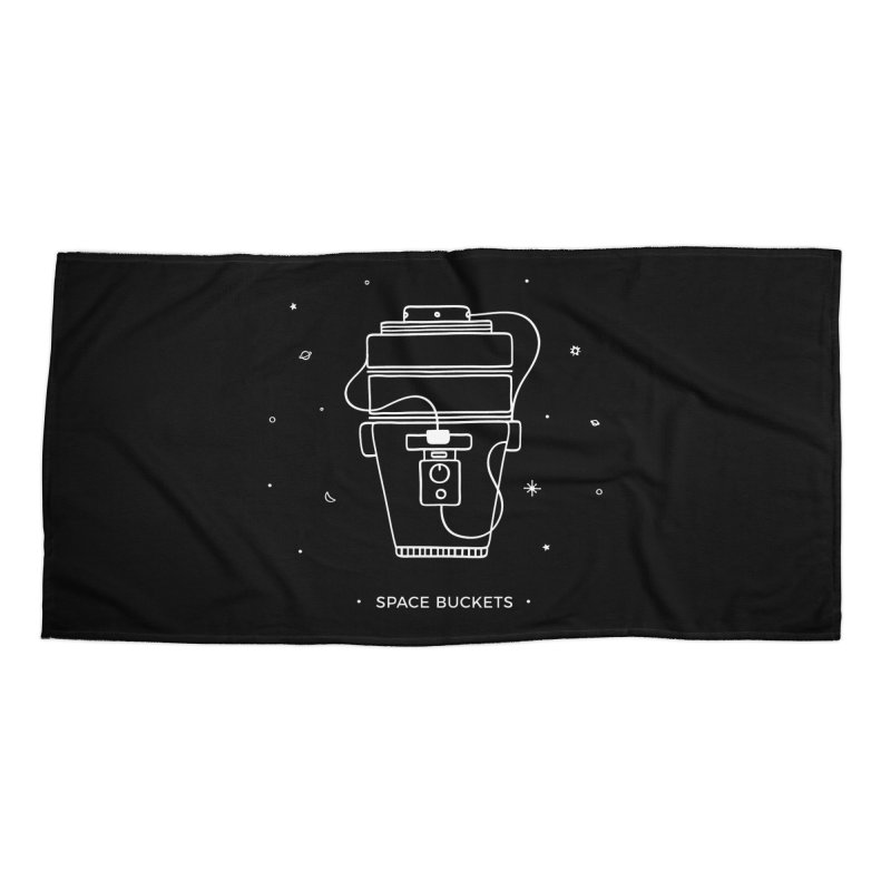 Space Bucket #1 white Accessories by spacebuckets's Artist Shop