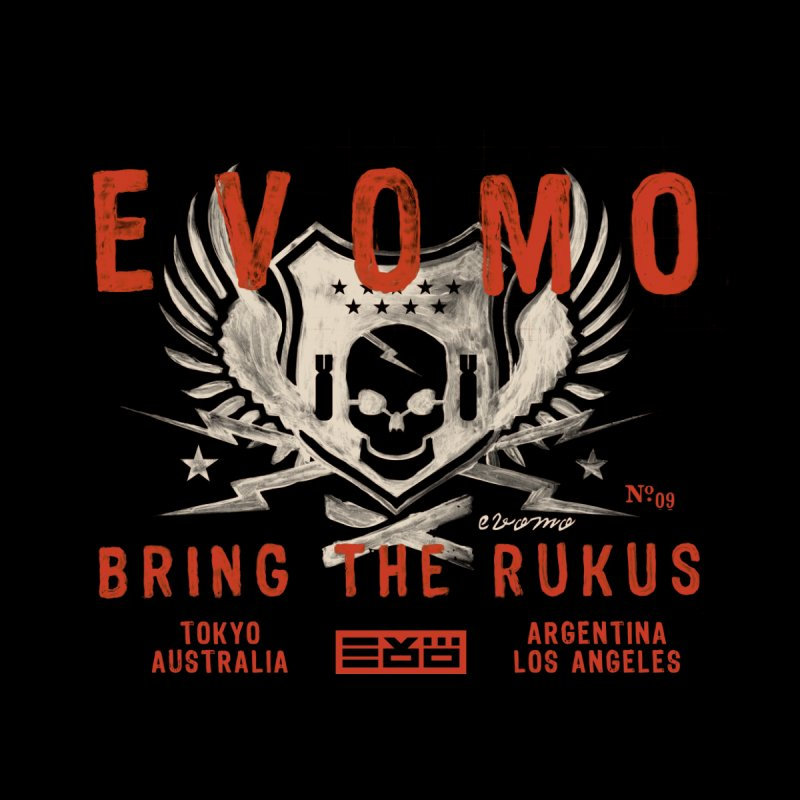 Evomo Rukus International Women's T-Shirt by EVOMO BRING THE RUKUS