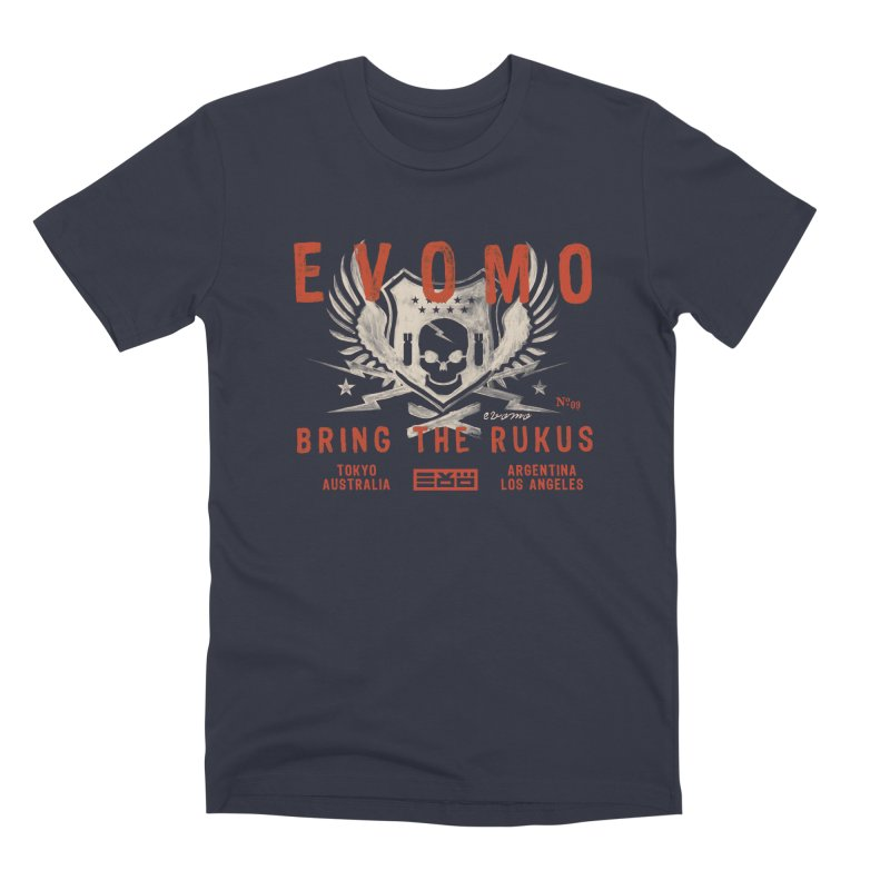 Evomo Rukus International Men's T-Shirt by EVOMO BRING THE RUKUS