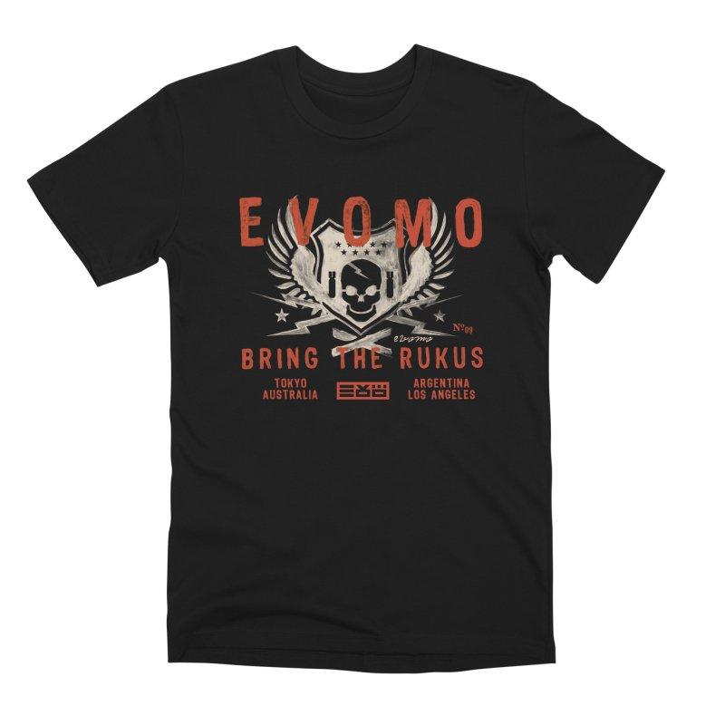 Evomo Rukus International Men's T-Shirt by EVOMO BRING THE RUKUS