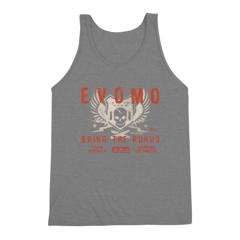 Evomo Rukus International Men's Tank by EVOMO BRING THE RUKUS