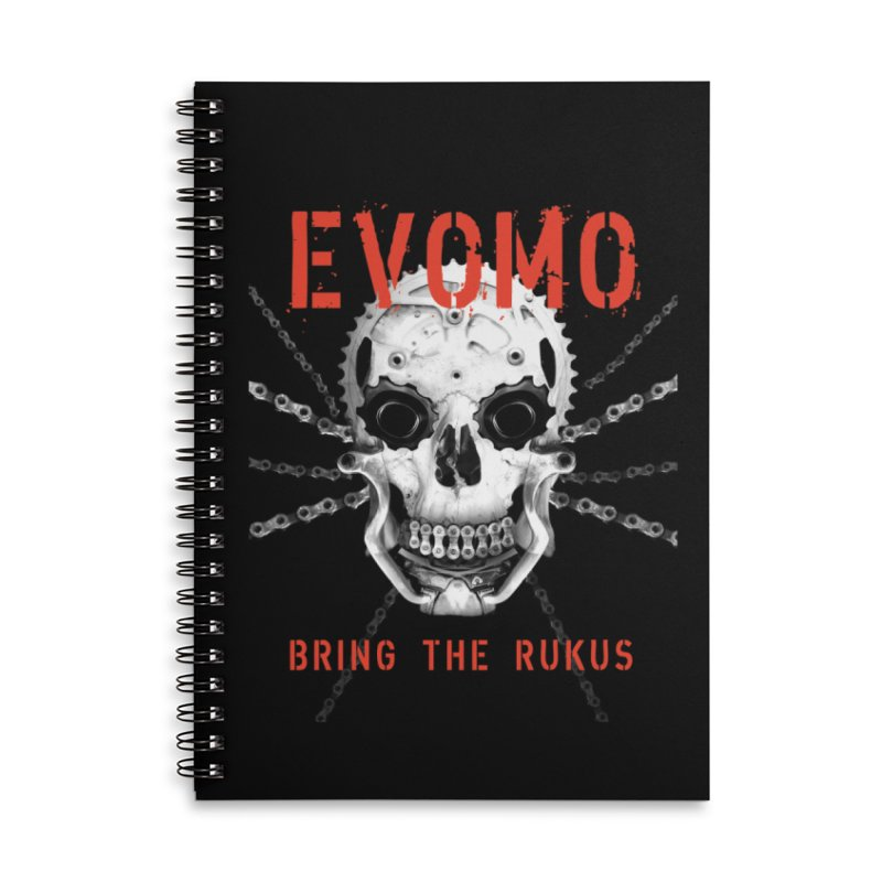 Evomo Ratchet Braincase Accessories Notebook by EVOMO BRING THE RUKUS