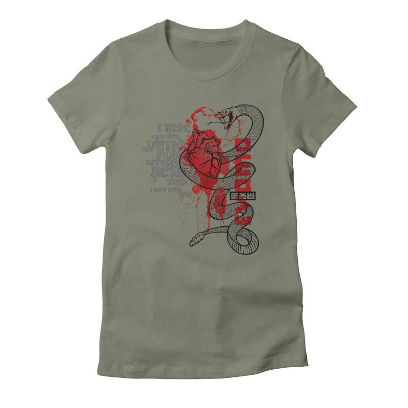 Evomo Venom Rattler Women's T-Shirt by EVOMO BRING THE RUKUS