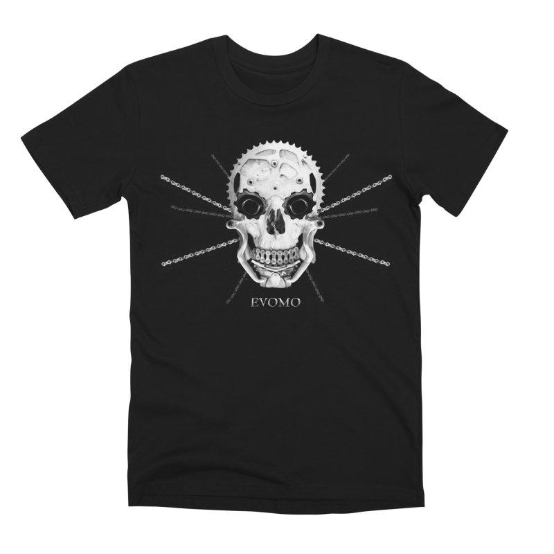 Evomo Braincase Men's T-Shirt by EVOMO BRING THE RUKUS