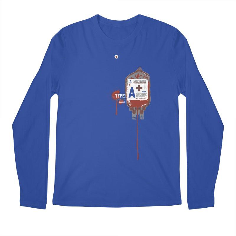 Evomo Blood Donor Men's Longsleeve T-Shirt by EVOMO BRING THE RUKUS