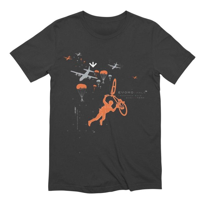Evomo H.A.L.O. Men's T-Shirt by EVOMO BRING THE RUKUS