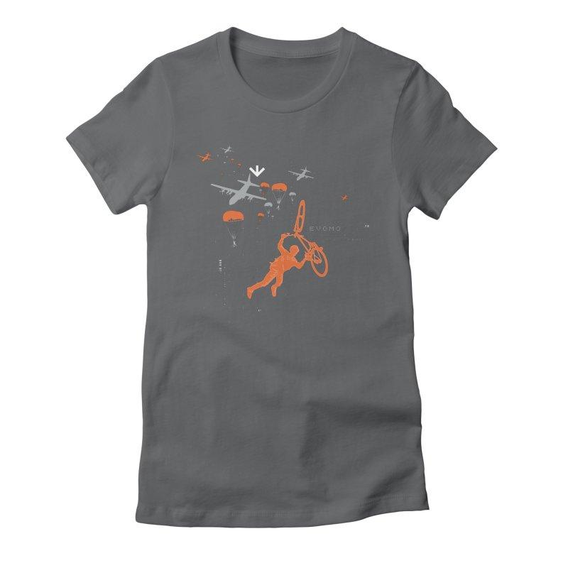 Evomo H.A.L.O. Women's T-Shirt by EVOMO BRING THE RUKUS