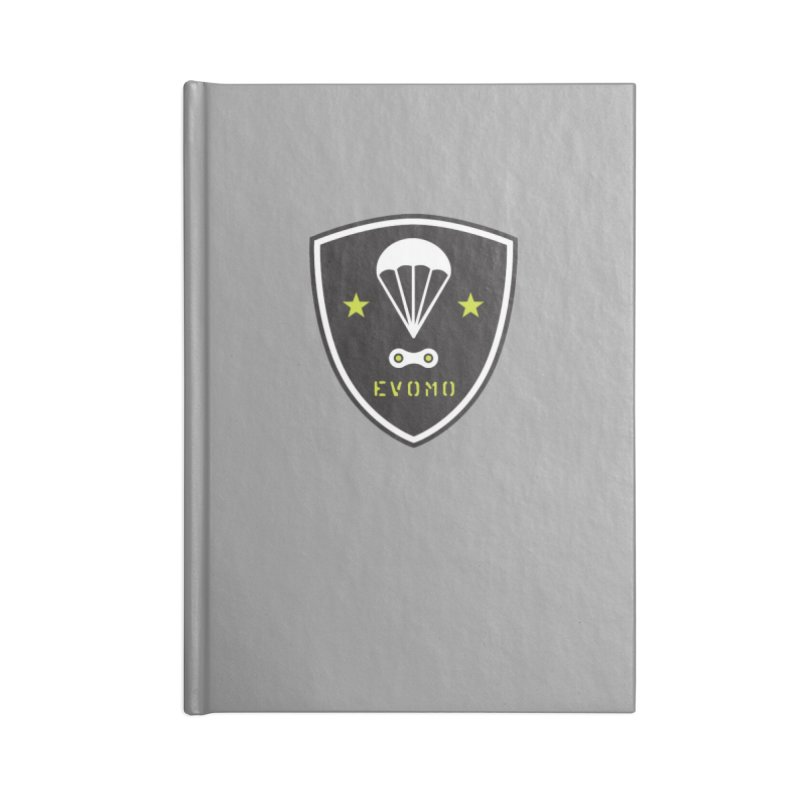 Evomo MTB Airborne Ranger Accessories Notebook by EVOMO BRING THE RUKUS
