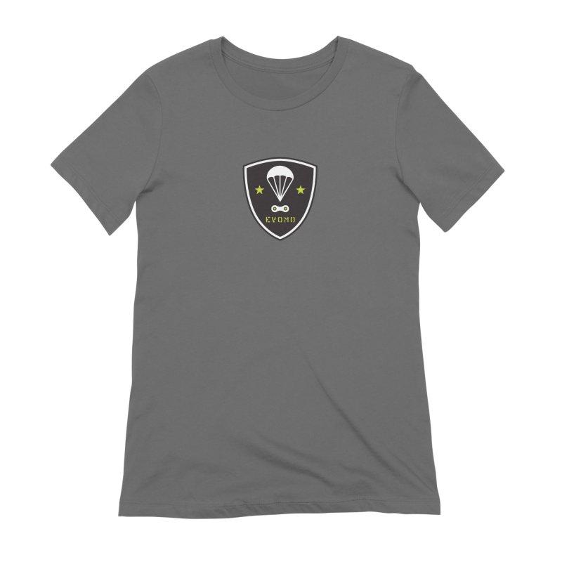 Evomo MTB Airborne Ranger Women's T-Shirt by EVOMO BRING THE RUKUS
