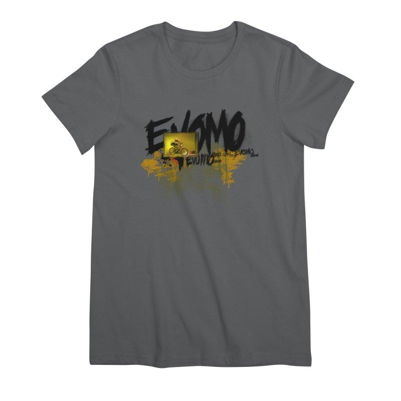 Evomo Flight Women's T-Shirt by EVOMO BRING THE RUKUS