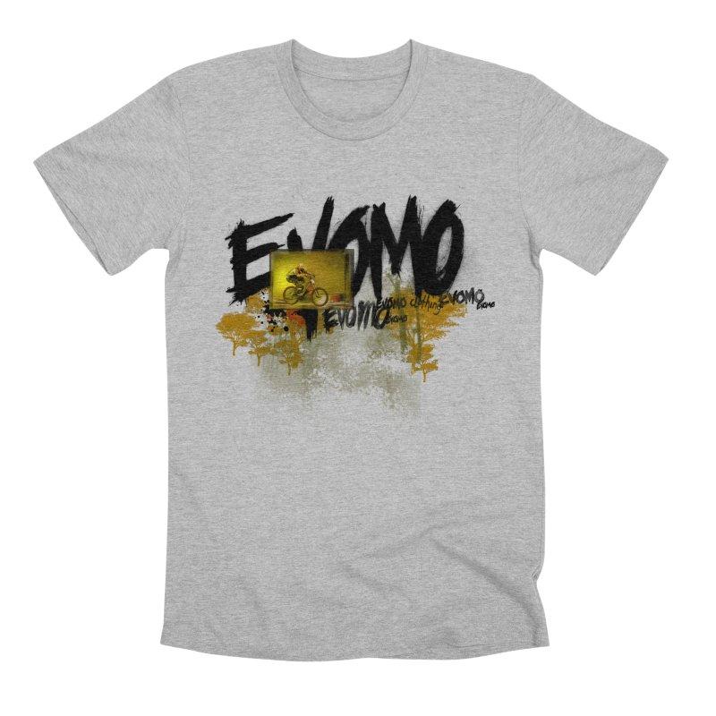Evomo Flight Men's T-Shirt by EVOMO BRING THE RUKUS