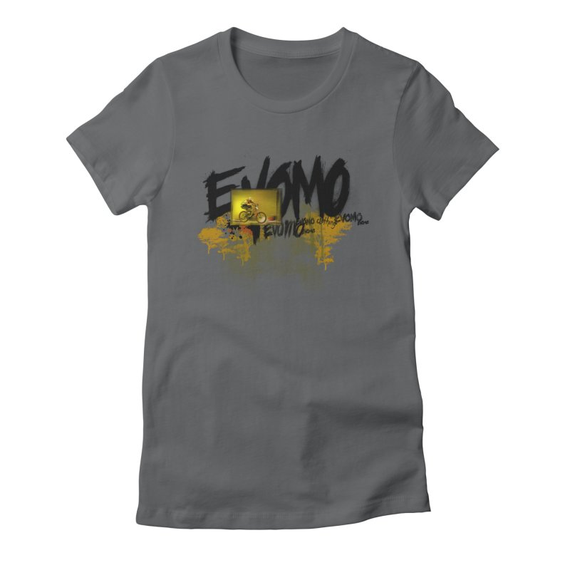 Evomo Flight Women's T-Shirt by EVOMO BRING THE RUKUS