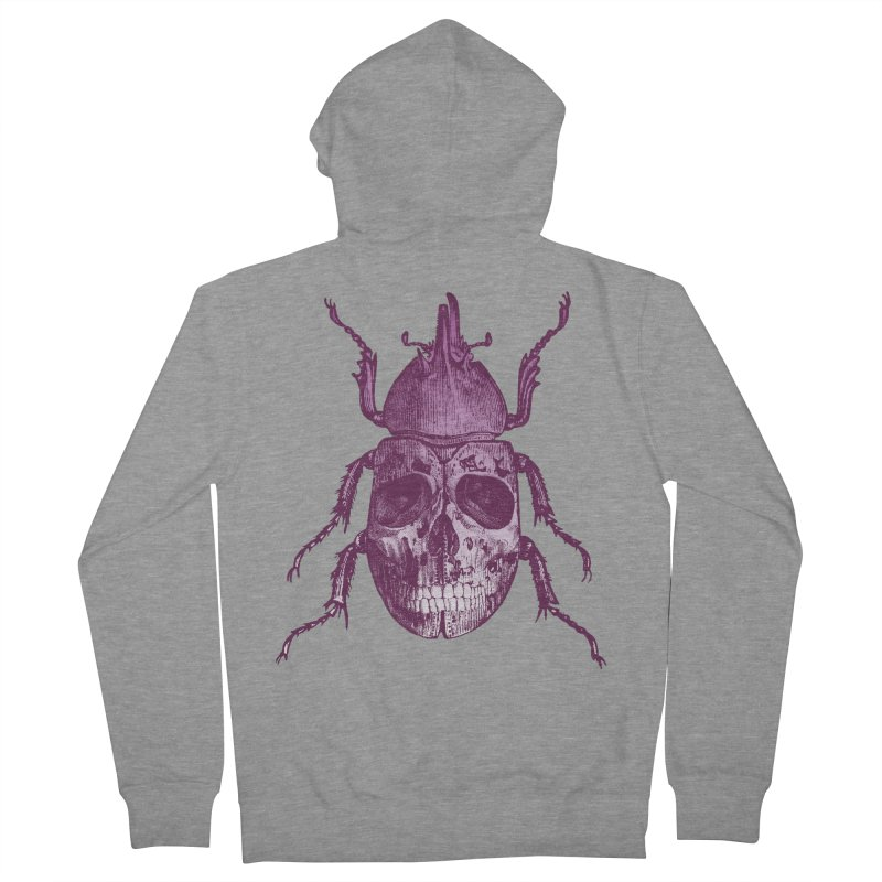 Coleoptera Mortem Men's Zip-Up Hoody by Space Jockey