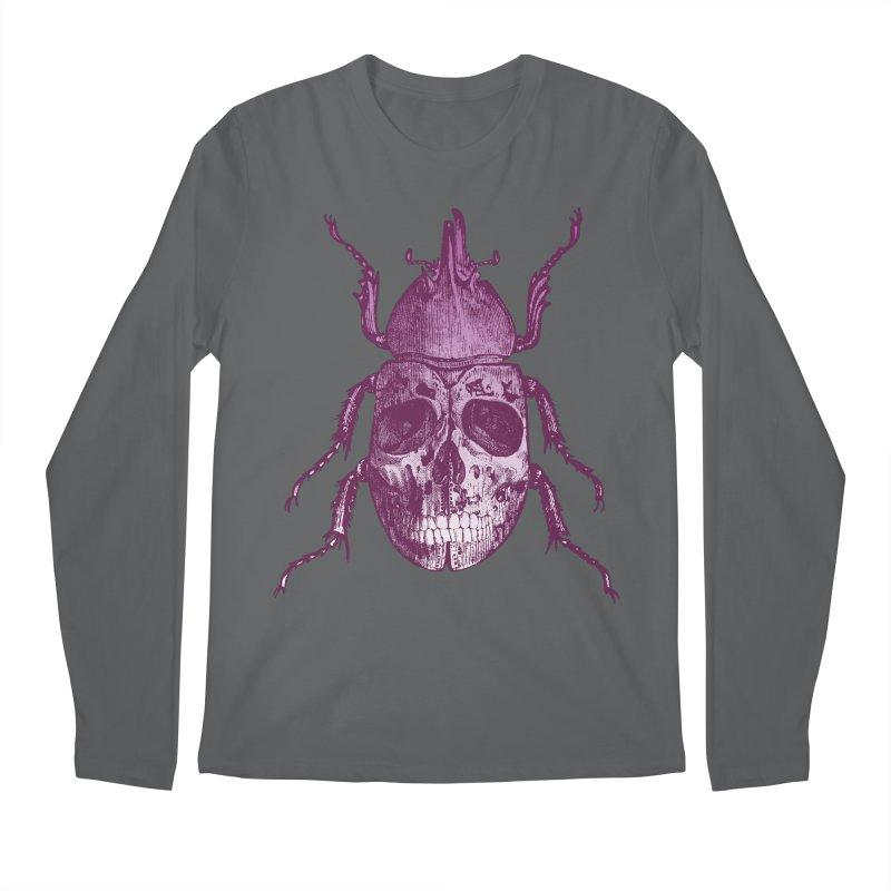 Coleoptera Mortem Men's Longsleeve T-Shirt by Space Jockey