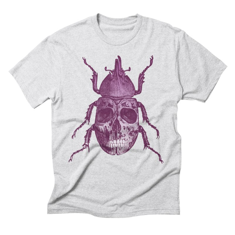 Coleoptera Mortem Men's Triblend T-Shirt by Space Jockey