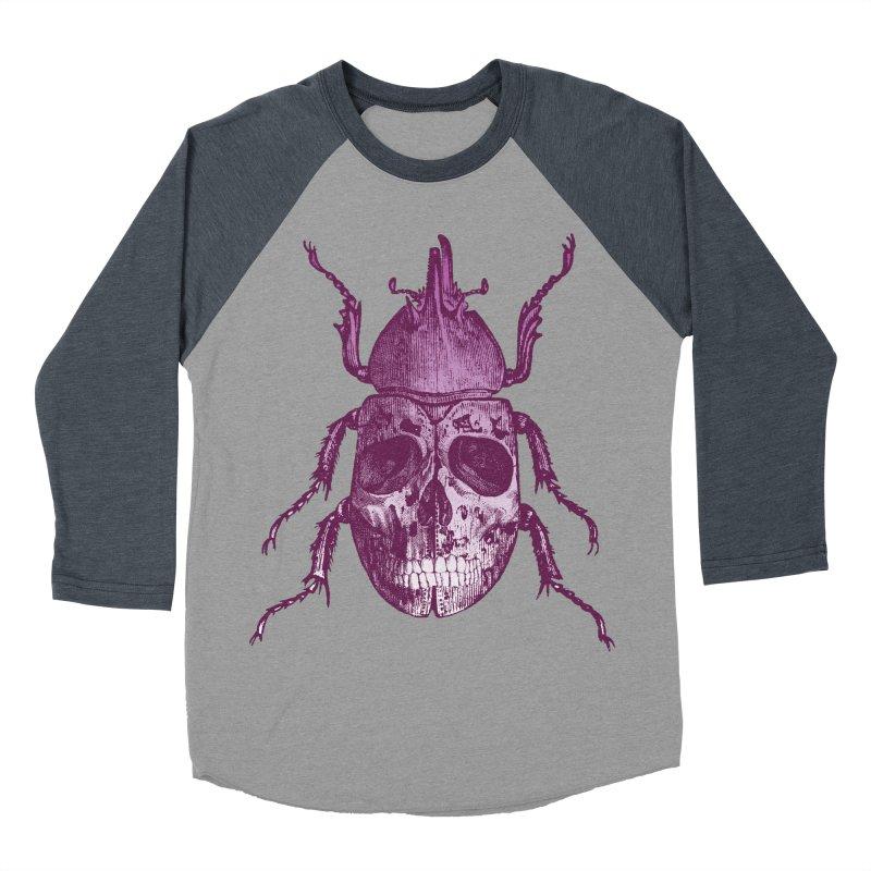 Coleoptera Mortem Women's Baseball Triblend T-Shirt by Space Jockey