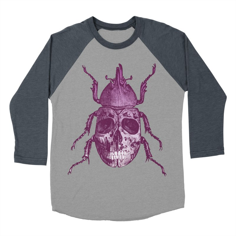 Coleoptera Mortem Men's Baseball Triblend T-Shirt by Space Jockey