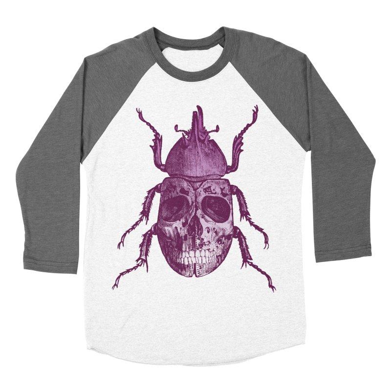 Coleoptera Mortem Men's Baseball Triblend T-Shirt by Space Jockey