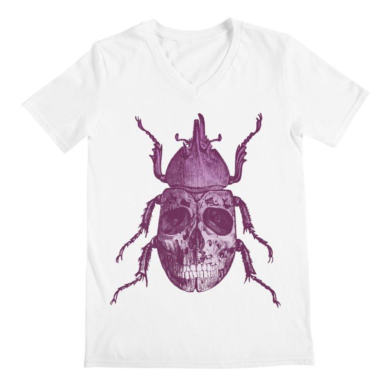 Coleoptera Mortem Men's V-Neck by Space Jockey