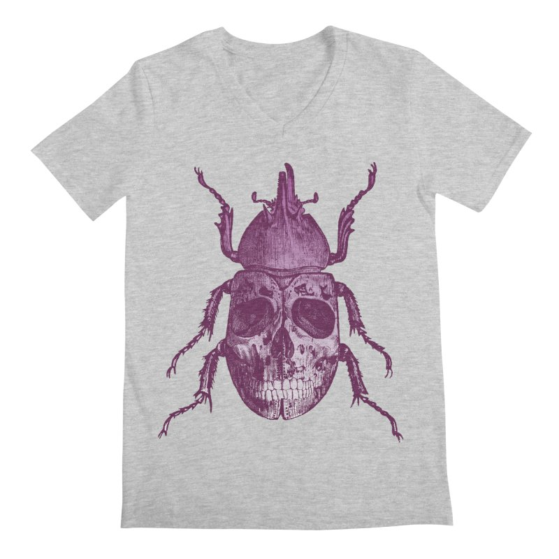 Coleoptera Mortem Men's V-Neck by Space Jockey