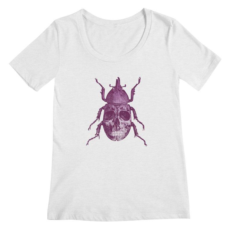 Coleoptera Mortem Women's Scoopneck by Space Jockey