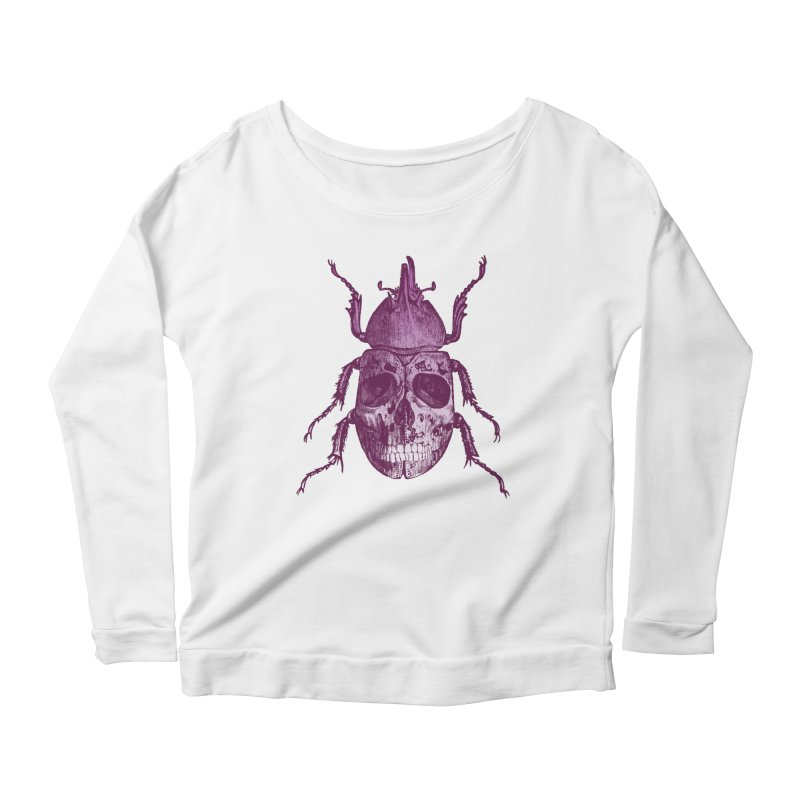 Coleoptera Mortem Women's Longsleeve Scoopneck  by Space Jockey