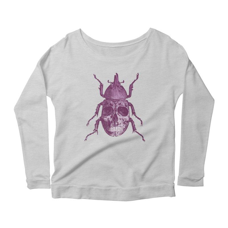 Coleoptera Mortem Women's Longsleeve Scoopneck  by Space Jockey
