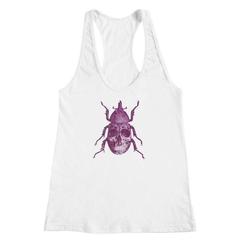 Coleoptera Mortem Women's Racerback Tank by Space Jockey
