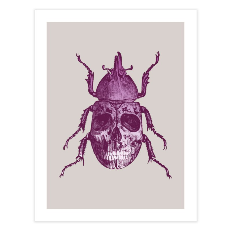 Coleoptera Mortem Home Fine Art Print by Space Jockey