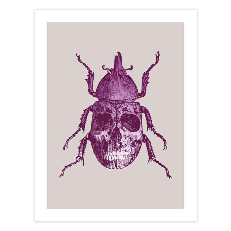 Coleoptera Mortem Home Fine Art Print by Space Jockey