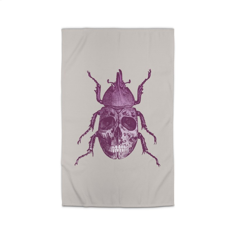 Coleoptera Mortem Home Rug by Space Jockey