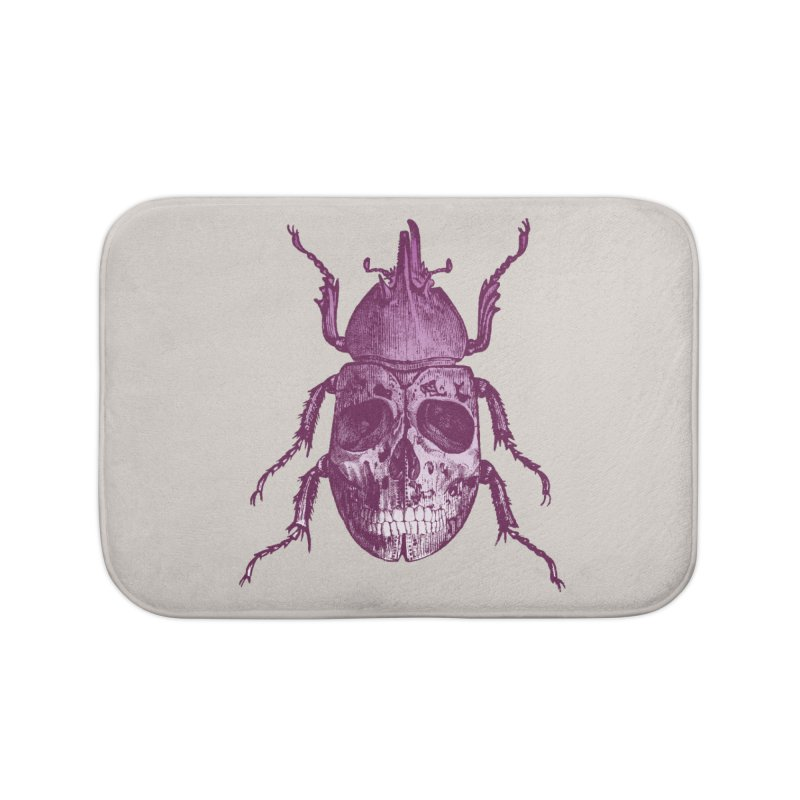 Coleoptera Mortem Home Bath Mat by Space Jockey