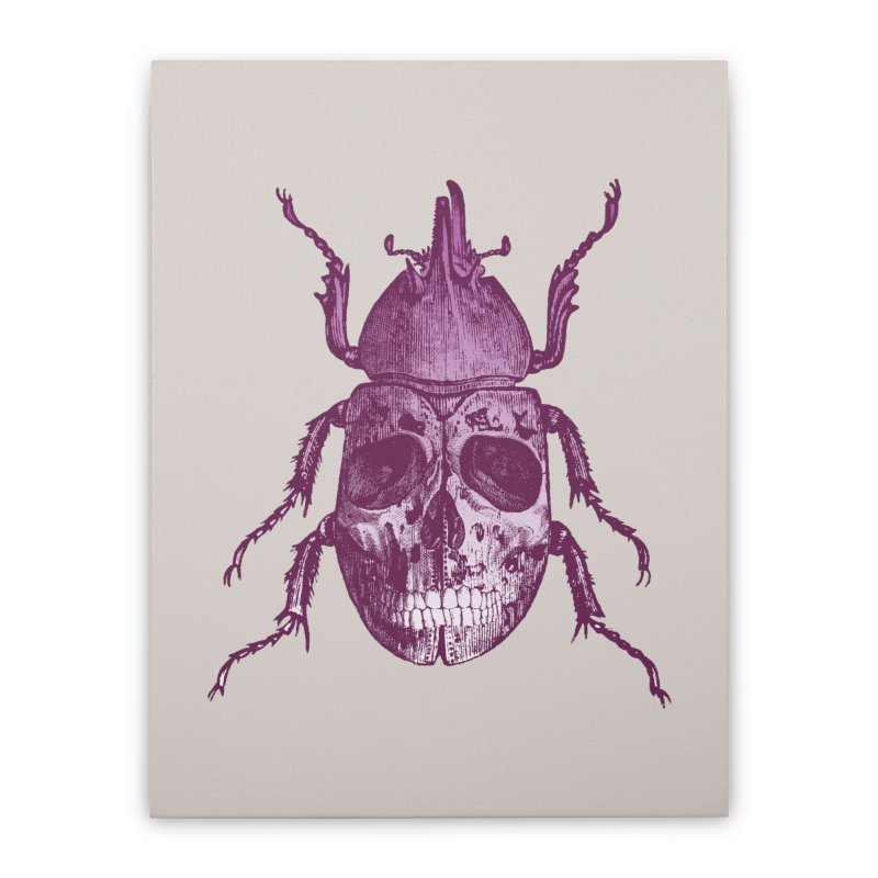 Coleoptera Mortem Home Stretched Canvas by Space Jockey