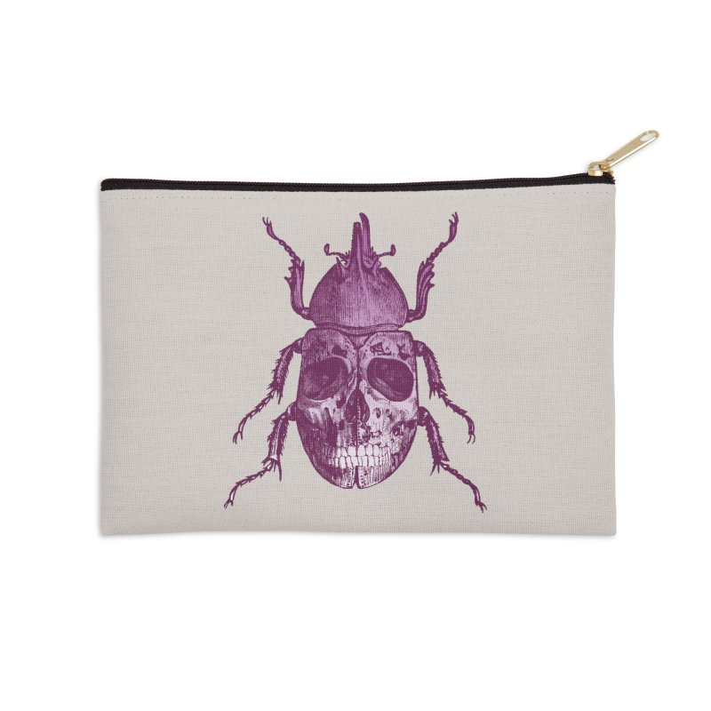 Coleoptera Mortem Accessories Zip Pouch by Space Jockey