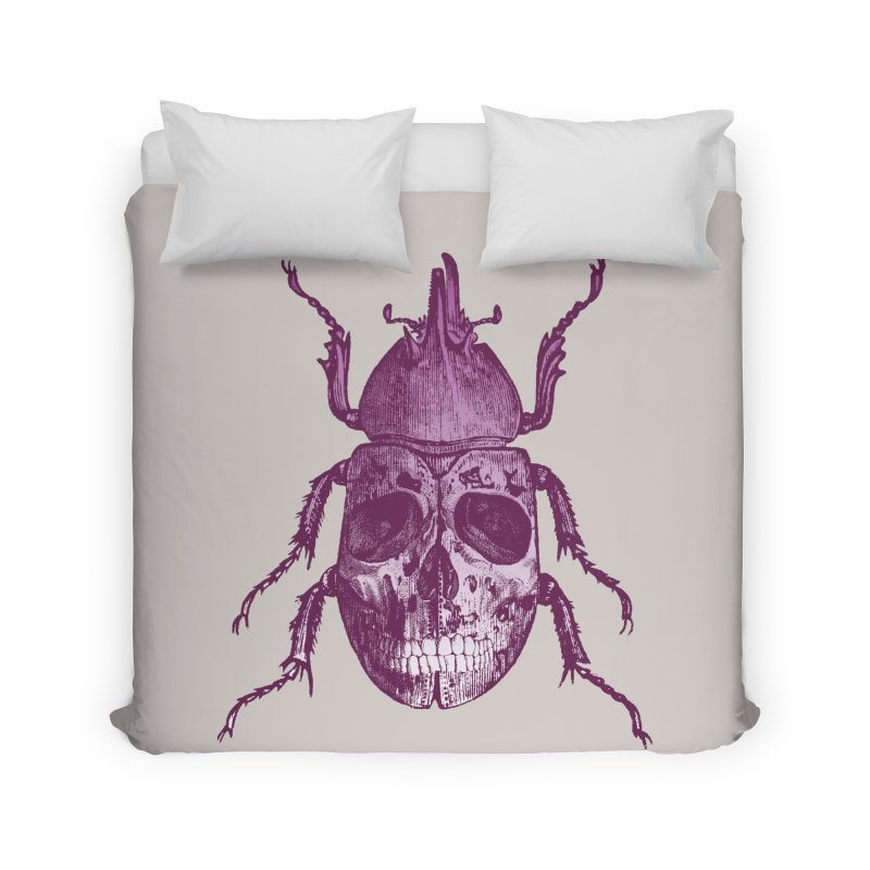 Coleoptera Mortem Home Duvet by Space Jockey