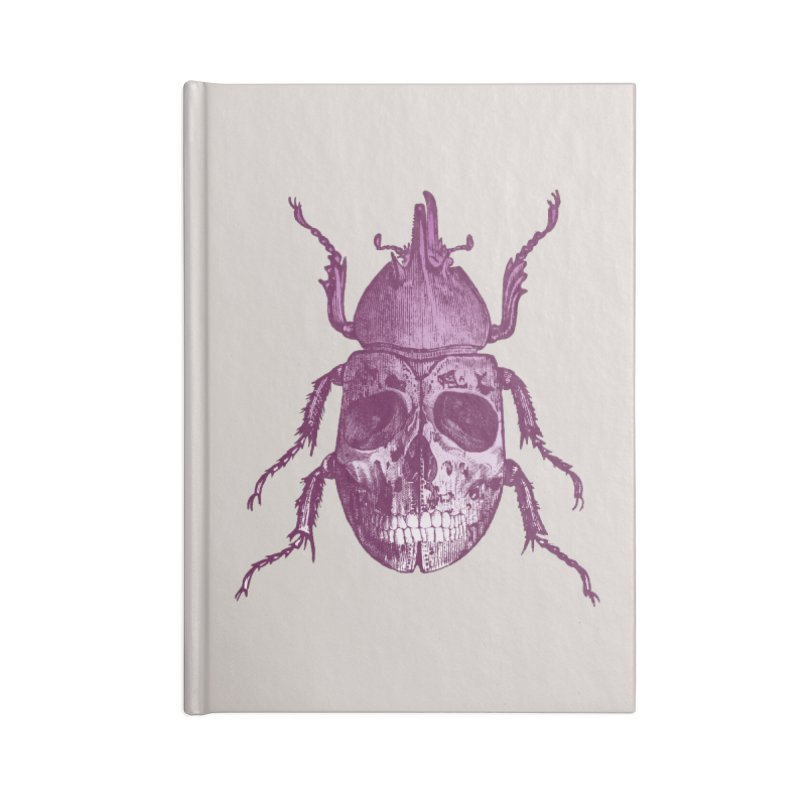 Coleoptera Mortem Accessories Notebook by Space Jockey
