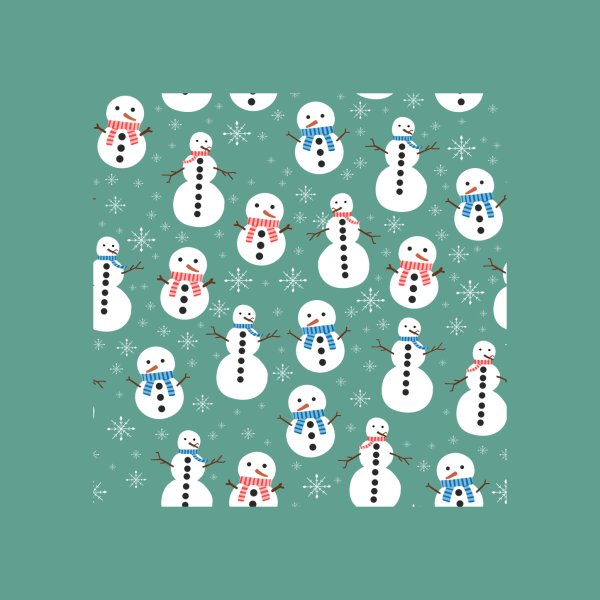 Design for Christmas Snowman Pattern