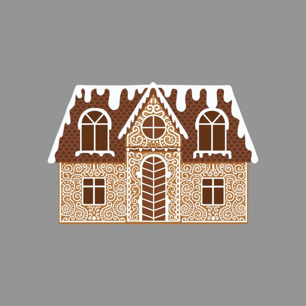 Design for Gingerbread Christmas House