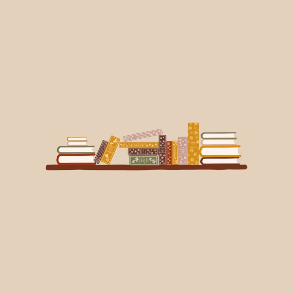 image for Bookshelf with Classic Literature