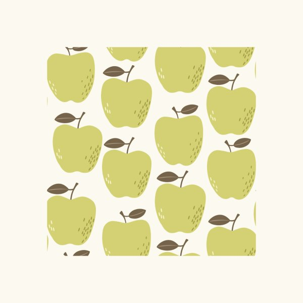 image for Green Apples Pattern