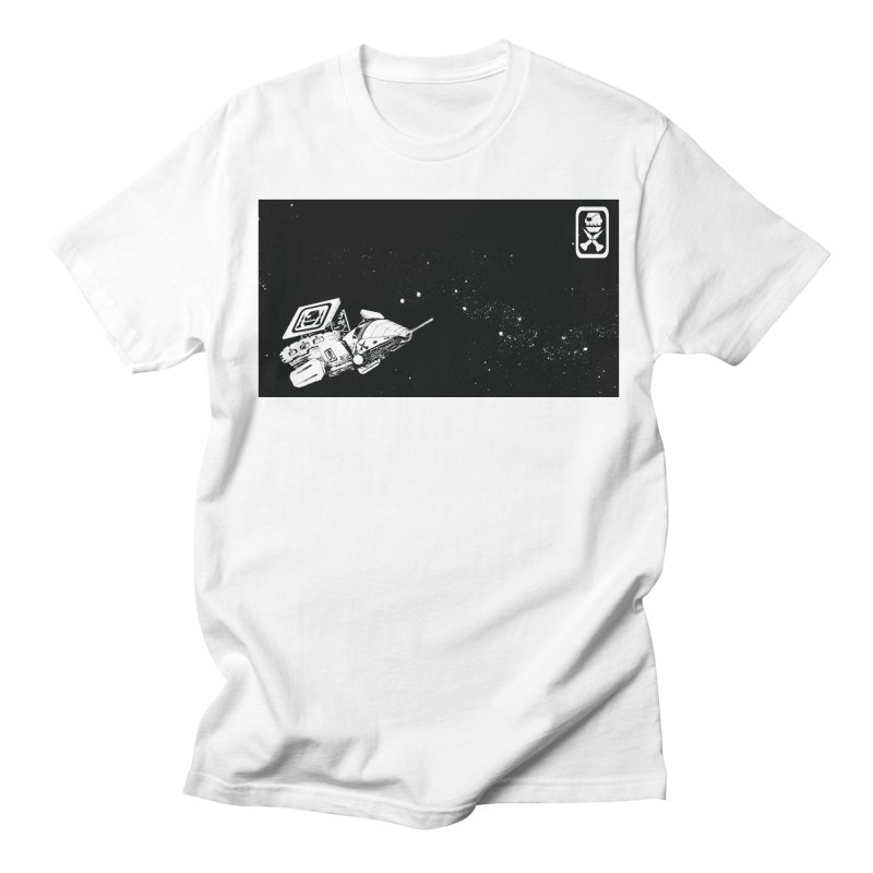 pirate ship Men's T-Shirt by Space Pirate
