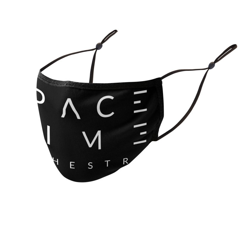 Spacetime Orchestra Logo Accessories Face Mask by The Spacetime Orchestra Emporium